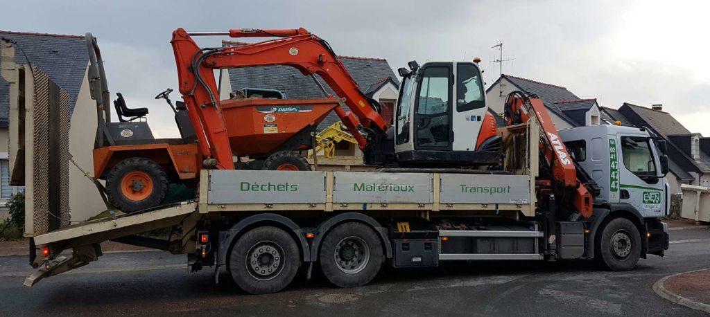 transport matériel en sécurité